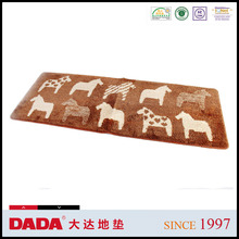 animal pattern microfiber outdoor mat