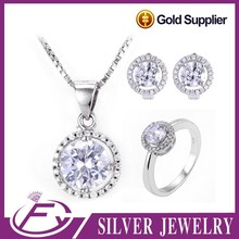 925 sterling silver perfect cut aaa cz stone imitation diamond dust jewelry