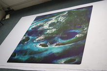 printed neoprene war battle mat, custom designed game mats , big rubber board game mat /tabletop play mat