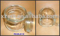 500ml glass jar or glass container with glass cap