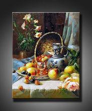 fashion art vase still life oil painting