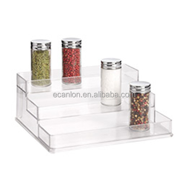 Clear Plastic Acrylic Kitchen Spice Rack Buy Spice Display Rack - Plastic spice racks for kitchen cabinets