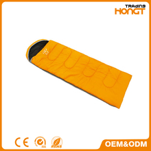 Single Person Envelope Sleeping Bag with Carrying Bag for Kids or Adults