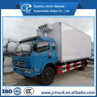 Manual Transmission Type and Diesel Fuel Type 18 cubic meters mobile kitchen food van for hot sale