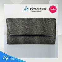 Pu+Glitter Medium Soft Made In China Clutch Purse Bag Shell