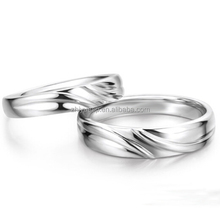 2015 new product fashionable jewelry 925 sterling silver wedding ring