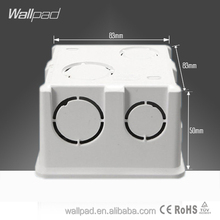 2015 New Arrival Hot Sale Wallpad For 86*86mm Wall Switch & Socket Mounting Plastic Electrical Junction Back Box