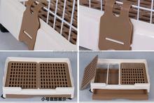 New design Multi-function metal plastic pet cage dog cage cat cage