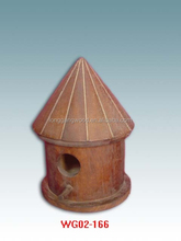 Cheap price decorative painting bird houses wooden bird house