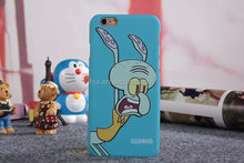 Hot Selling Cute Design For SpongeBob image 3D TPU Cell Phone Cases For Iphone6
