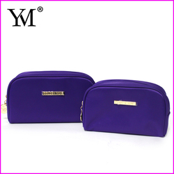2016 New Arrival luxury fashion custom cosmetic makeup pouch womens travel toilet bag