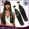 Producto de pelo virgen, venta al por mayor del pelo brasileño, grado 7A remy paquetes armadura brasileña del pelo