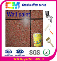 Stone effect spray granite decorative painting