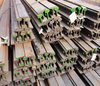 Hot rolled American standard 43kg/m steel railroad rail