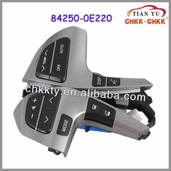 China Factory Directly FOR Toyota Car Steering Wheel Audio Control Switch for TOYOTA