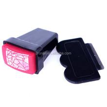 2014 popular rectangular Nail Art Stamp and Scraper kit