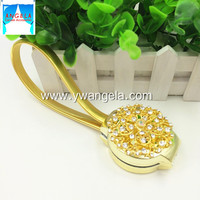 YiWu Angela Curtain Accessories Plum blossom shape spring metal magnetic buckle