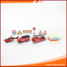 1:64 Alloy fire services kit mini car collection die cast toy for kids