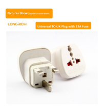 Hot!!! Alibaba China Universal Travel Plug Adapter To UK With 13A Fuse