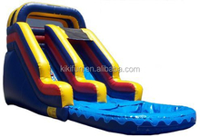 2015 low price offer inflatable slides for water park games