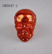 Venta al por mayor decorativo cráneo en forma de cristal para Halloween