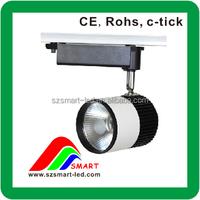 LED Track lightsystem AC 85-265v LED spot light LED spotlight gu10 35w Clothing store LED track lighting
