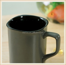 ceramic square mug in square rim mug