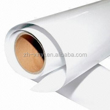 PVC self adhesive film for printing media