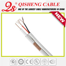 Factory price TV cable,outdoor using rg11 coaxial cable,CCS conductor fiber optic cable camera