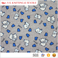 Anti-pilling custom print baby bedding fabric