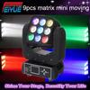 Professional 4in1 RGBW 3*3 Pixel Mini Beam 9x12w Matrix LED Moving Head/ Beam Matrix Disco Light Moving Head