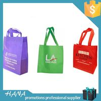 Best quality promotional cute non woven shop bags