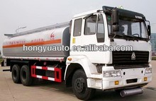 6x4 20CBM SINOTRUK chemical liquid tank truck for sale