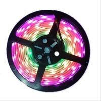 Hot dmx 5v high lumen dream color rgb addressable led pixel strip ws2801