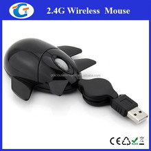 Mini Airplane Design High Quality Wired Optical Mouse for PC Laptop
