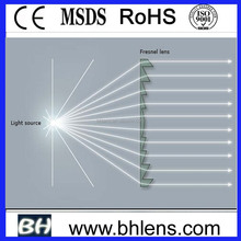 BHPA120-2-A acrylic Material and Plano Structure solar fresnel lens
