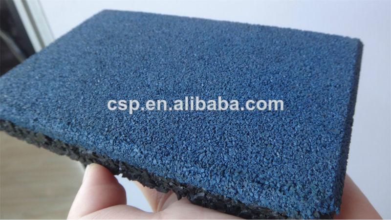 Gimnasio profesional suelo de goma azulejo para sala de - Suelos de goma para gimnasios ...