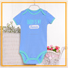 OEM 2015 new design cartoon print lovely pima cotton baby clothing