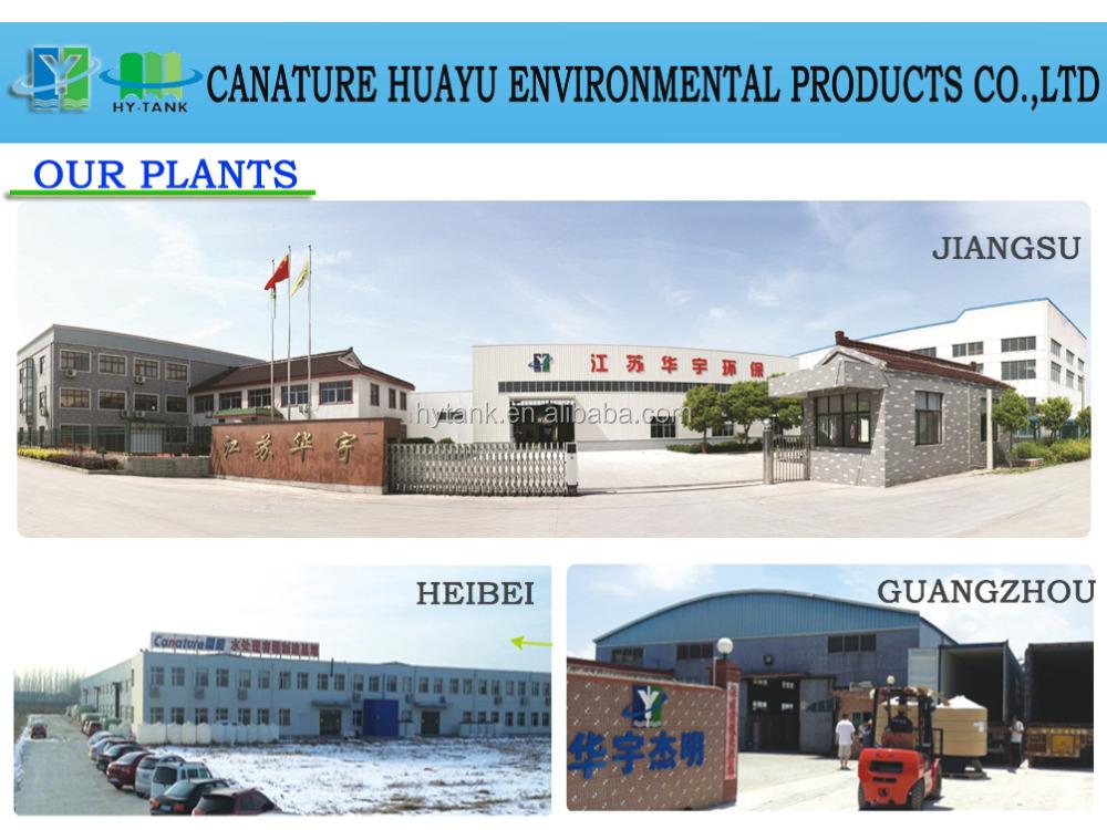 Canature Huayu 2015 best sell fiber glass water filter vessel