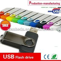 Matel swivel promoftion flash drives USB