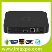 Amlogic S805 Quad Core tv box with KODI pre-installed support 4 Music and SolarMovie.so