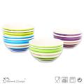 """5.5""""stoneware handpainting ceramic bowl"""
