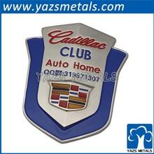YAZS shenzhen factory 2015 metal car logo sign car emblem