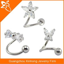 lip ring labret studs,flower eyebrow rings,now rings,helix ear piercing