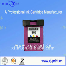 First-Hand Empty, High Quality Ink,802 (CH561ZZ) Remanufactured ink cartridges