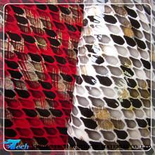 PU snake skin for ladies handbags leather(piel Serpiente)