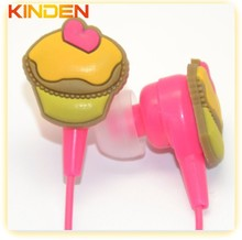 Silicone earphone rubber cover for mp3 skype samsung xiaomi iphone