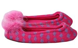 2016 ladies cashmere ballerina house slippers