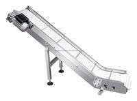 mini adjustable slat conveyor finished product conveyor