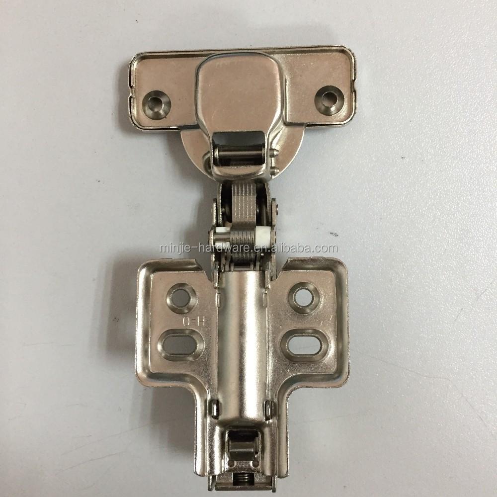Hydraulique en acier inoxydable dissimulé charnières